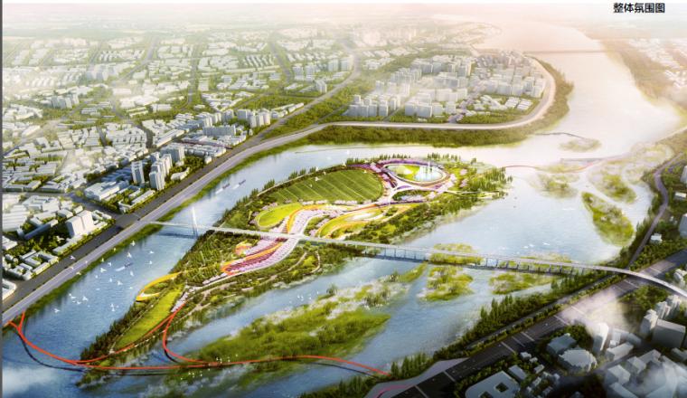 [四川]南充滨江现代生态湿地公园景观设计方