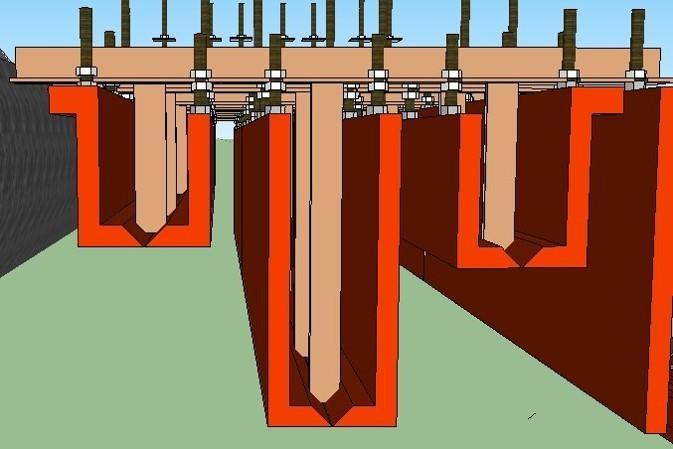 铁路隧道仰拱快速施工和沟槽施工设备的应用