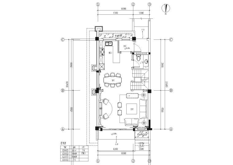 [成都]温江金科联排别墅样板间装饰施工图