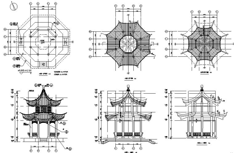 植物园杜鹃专类园建设工程图纸含清单标文件