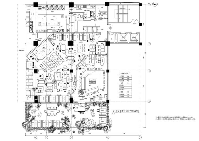 [贵州]毕节胡桃里音乐餐厅施工图(PDF版)