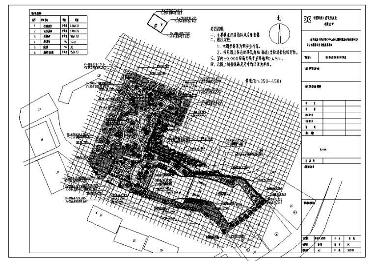 便民服务中心绿化工程景观图纸