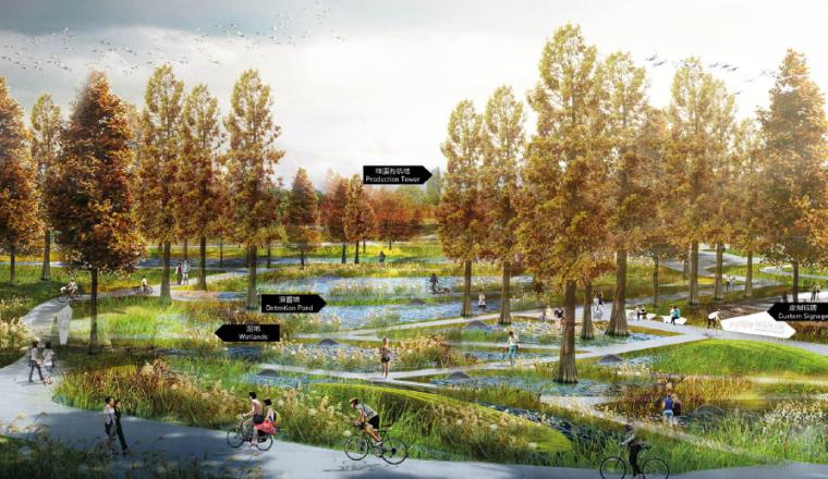城市活力公园效果图