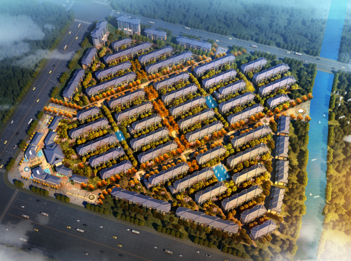 临港南汇新城多层洋房叠墅规划建筑方案文本