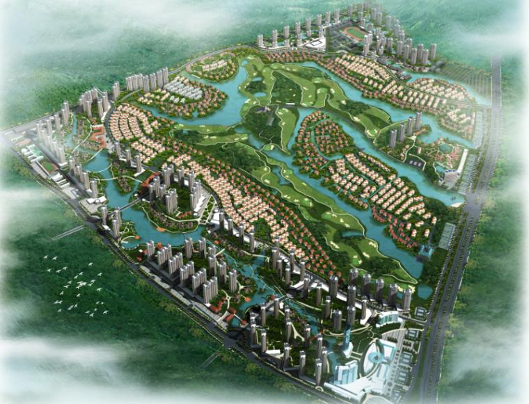 [广西]南宁欧式风格花园居住区景观设计方案