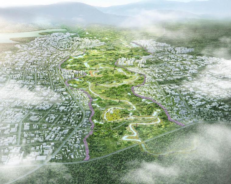 [四川]成都滨河智慧农业公园景观设计方案