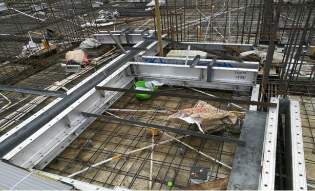 提高铝合金模板成型混凝土细部施工质量