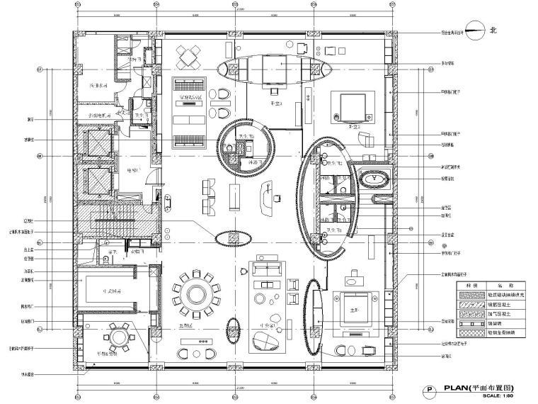 金螳螂北京盘七星摩根广场公寓样板间施工图
