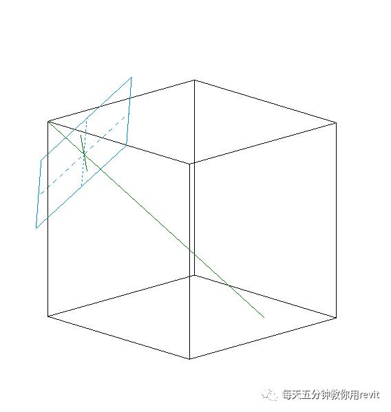 Revit如何设置斜切角参照平面?_6
