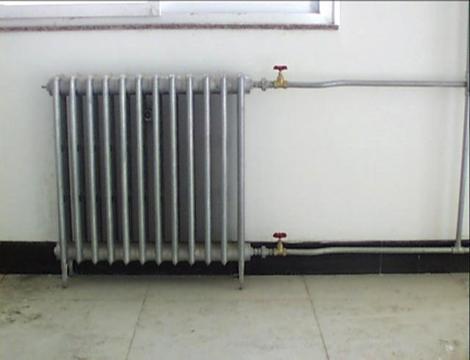 45散热器安装
