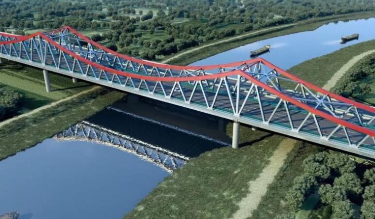 Lumion全桥模型渲染图