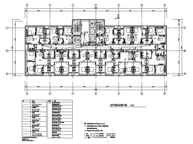 北京综合体商业及办公楼强弱电系统施工图