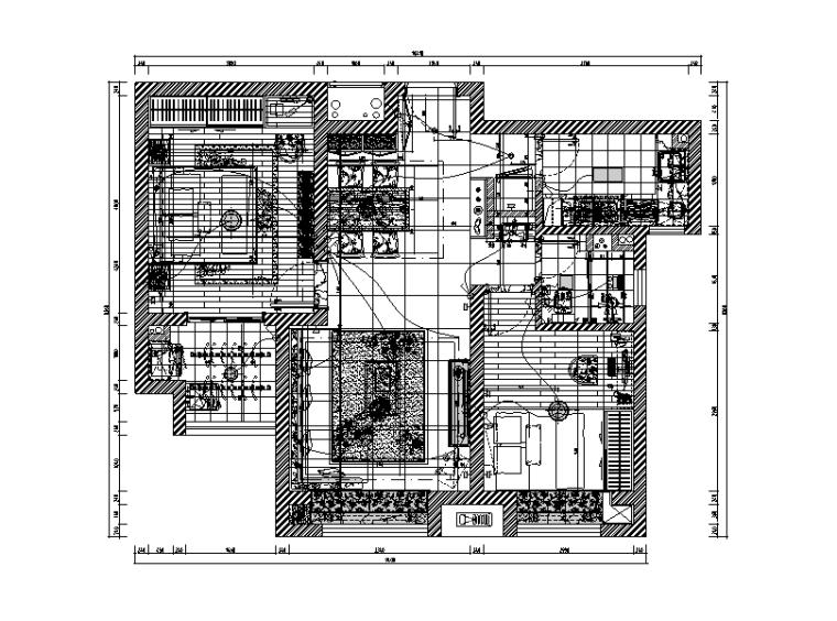 家装项目精装修工程预算报价实例