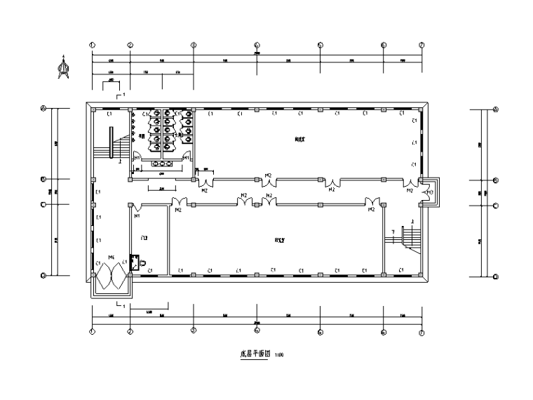 图书馆建设工程图纸钢筋工程量