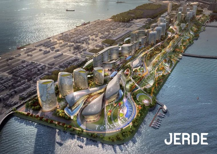 Catch the Wave|JERDE腾讯总部园区规划方案