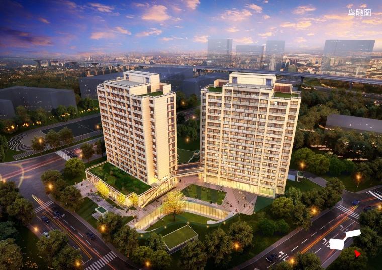 上海三普医疗养老中心规划方案设计