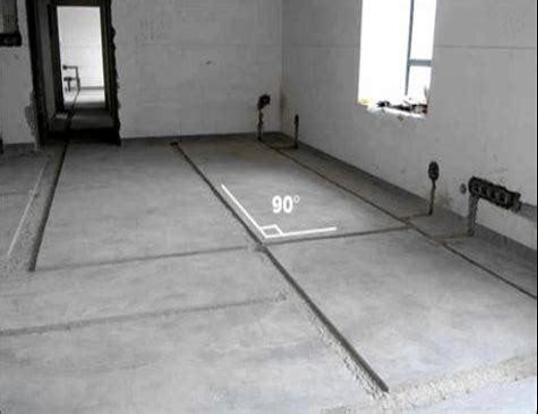 53暗敷管线剔槽安装