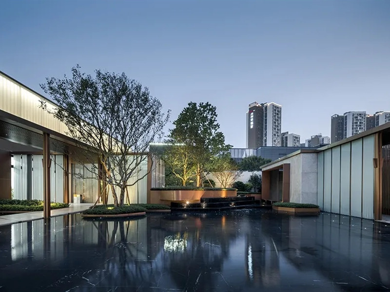 广州万科知识城社区景观