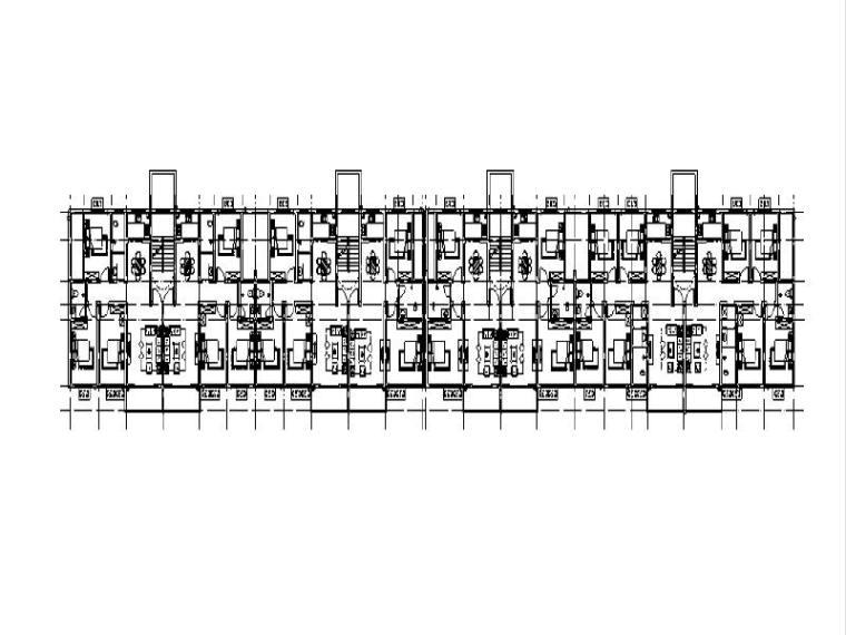 2017底框结构商品住宅楼毕设(含图纸工程量)