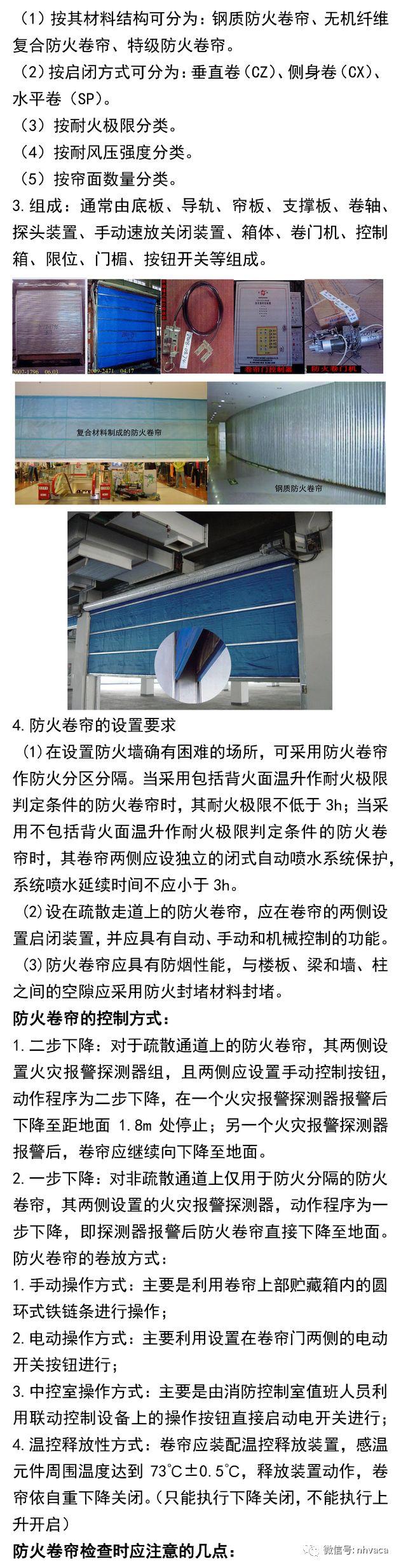 防火分隔设施基础知识汇总_5