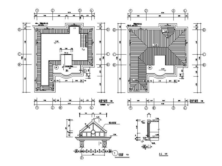 379套精选单层多层农村自建房+别墅建筑施工图15