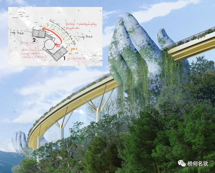 越南人行景观桥-金桥_8