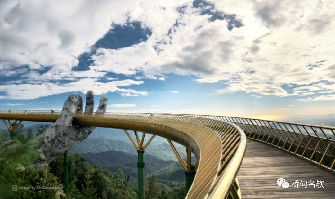 越南人行景观桥-金桥_15