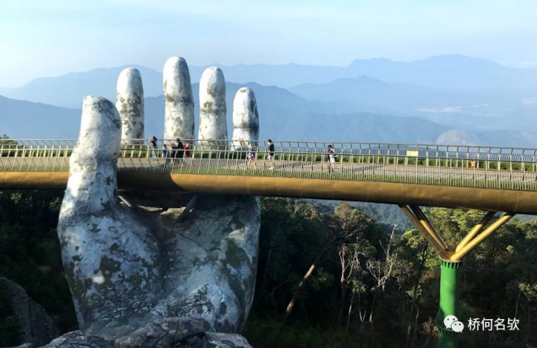 越南人行景观桥-金桥_18