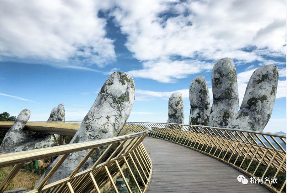 越南人行景观桥-金桥_23