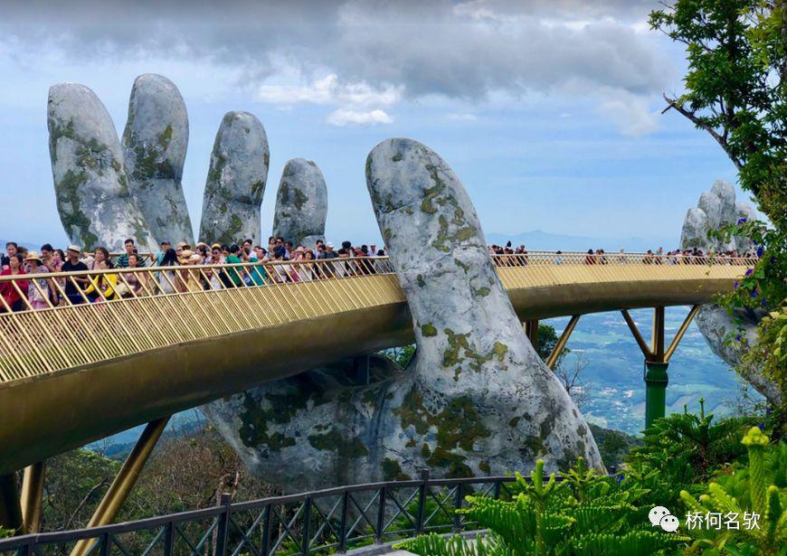 越南人行景观桥-金桥_27