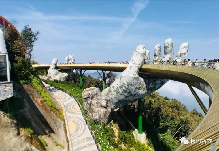 越南人行景观桥-金桥_28