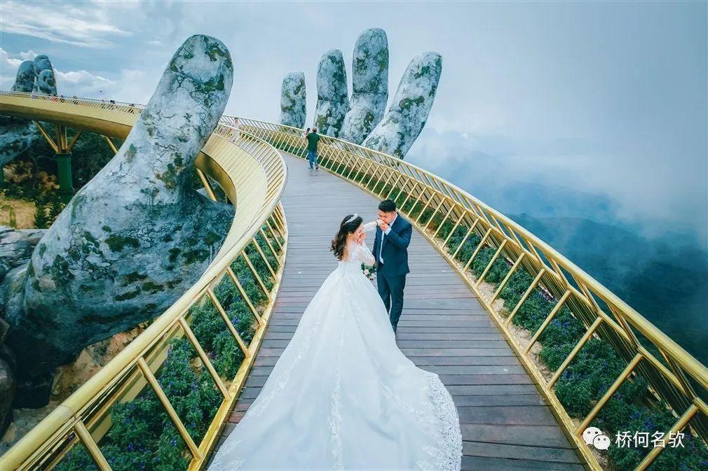 越南人行景观桥-金桥_35