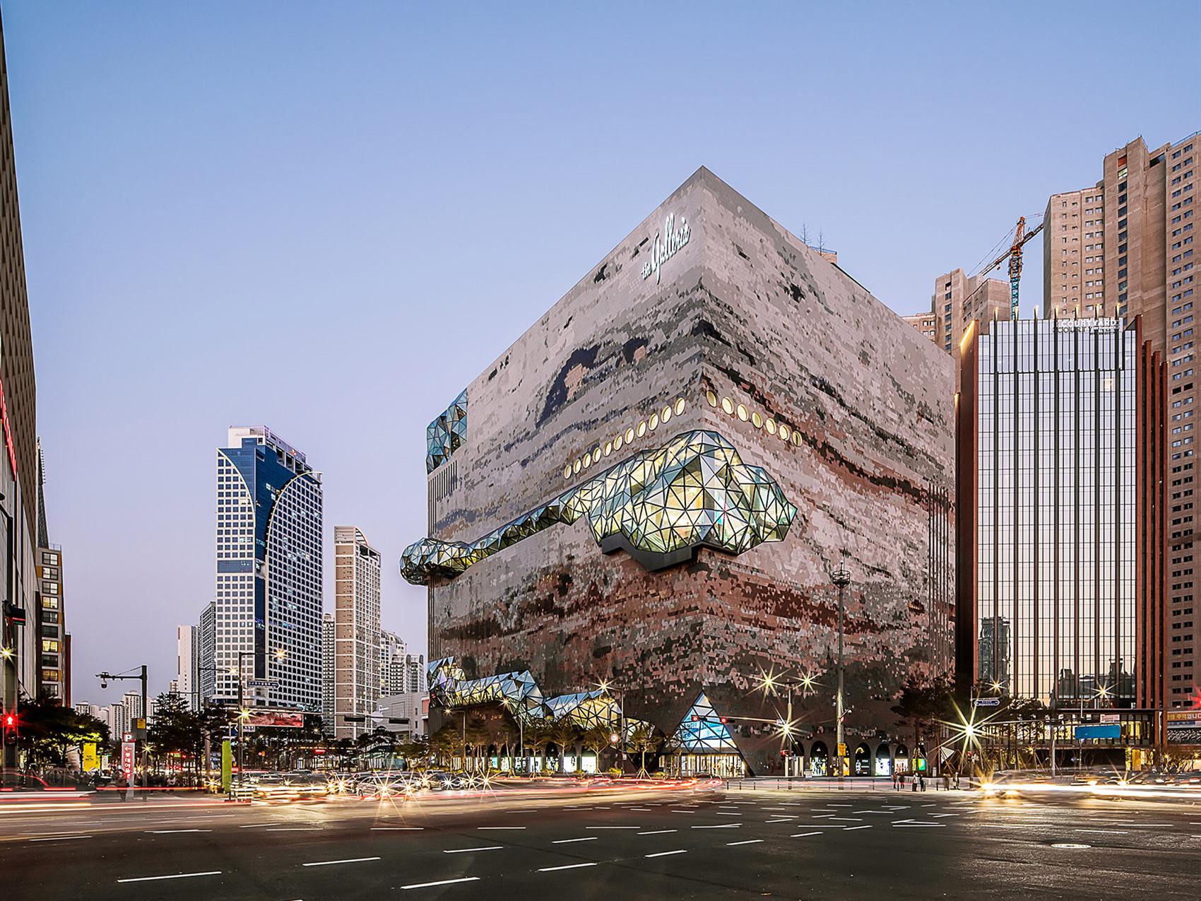 韩国Galleria百货公司大楼