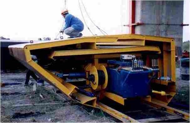 桥涵施工技术之移动模架法施工