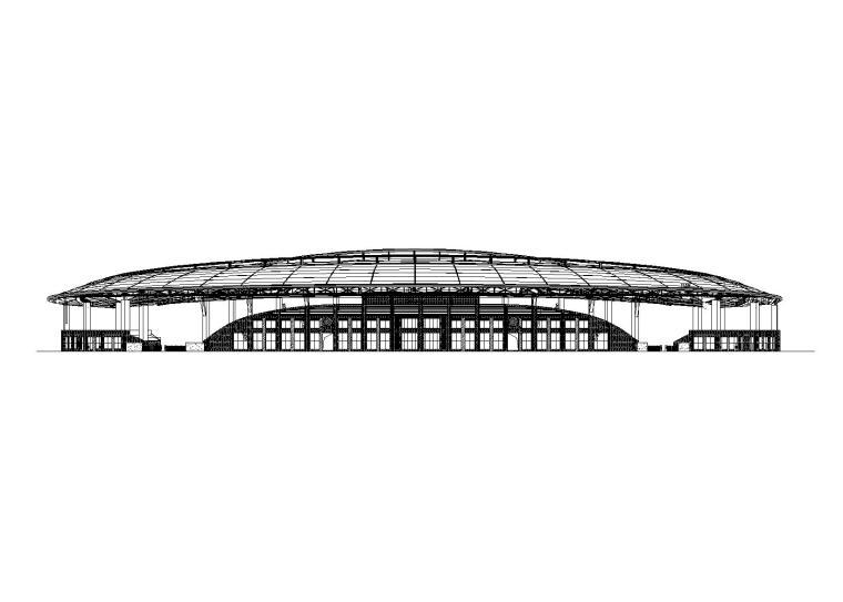 修文县体育场建筑设计施工图(含招标文件)