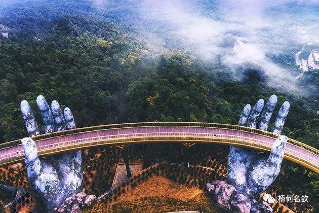 越南人行景观桥-金桥
