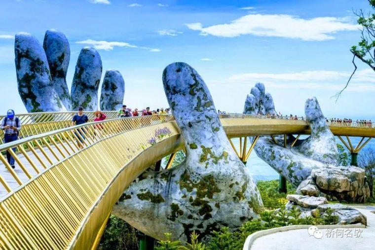 越南人行景观桥-金桥_2