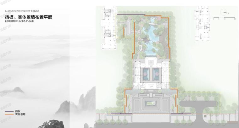 景墙平面图