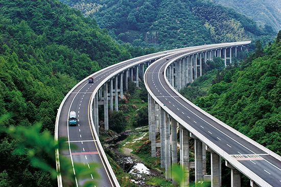 project进度计划教程资料下载-高速公路总体施工进度计划(67页)