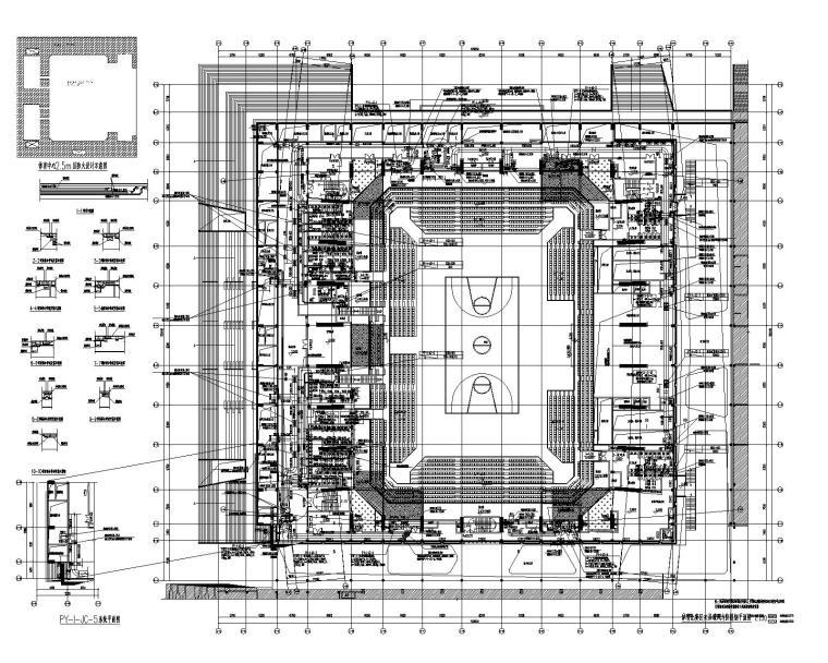 体育中心暖通图纸_监理文件大纲