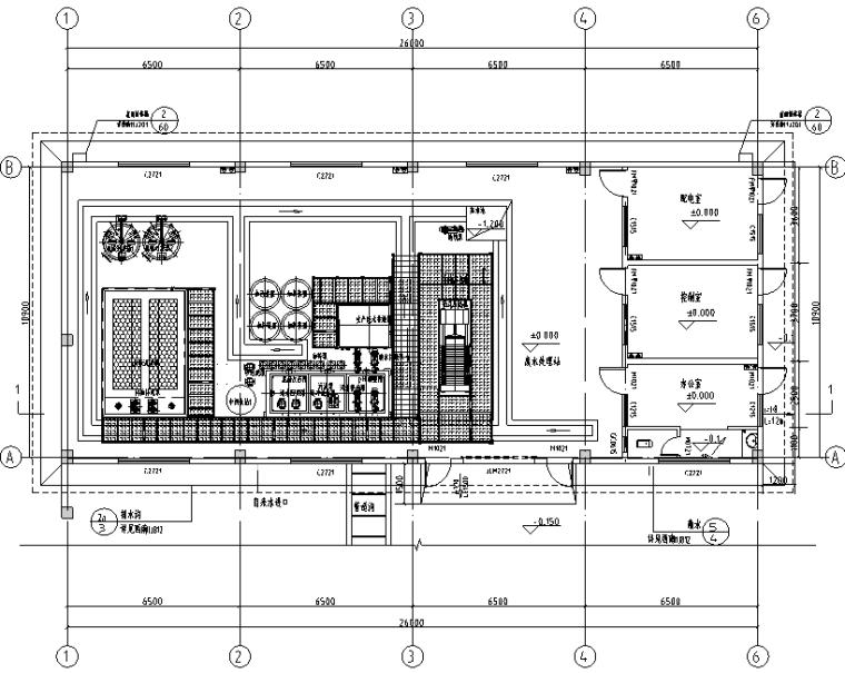 1-建筑一层平面图