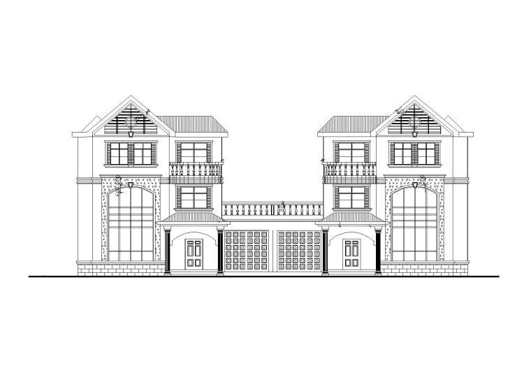 379套精选单层多层农村自建房+别墅建筑施工图1