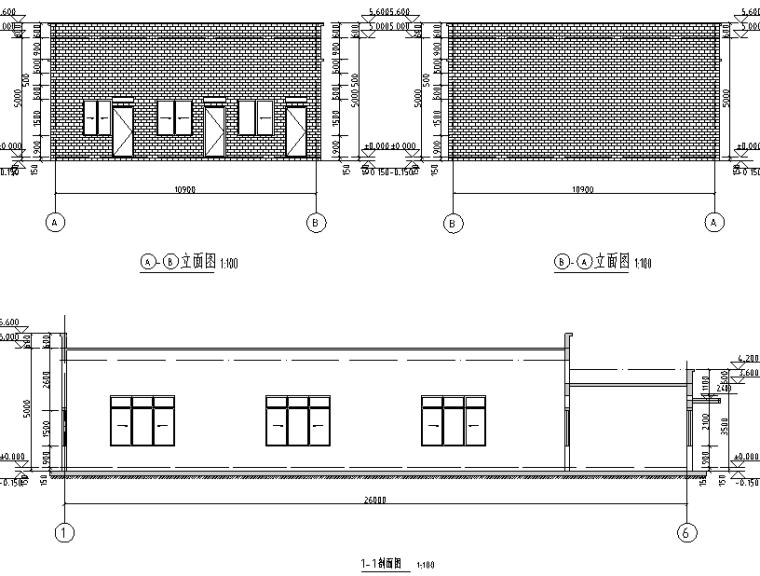 4-建筑立、剖面图