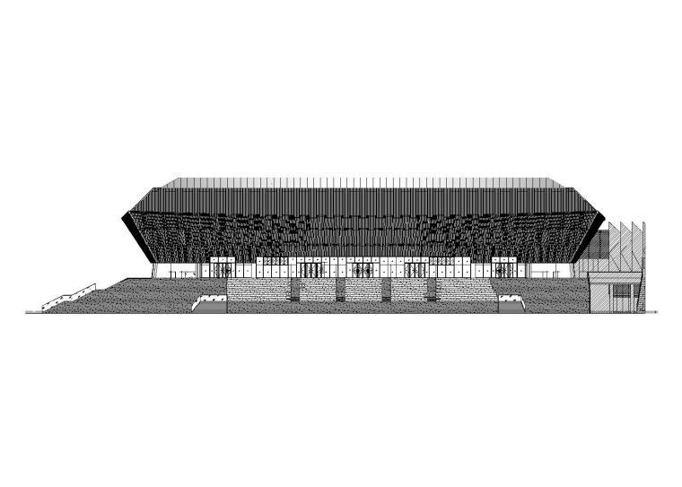 [重庆]某大学体育中心项目建筑施工图设计