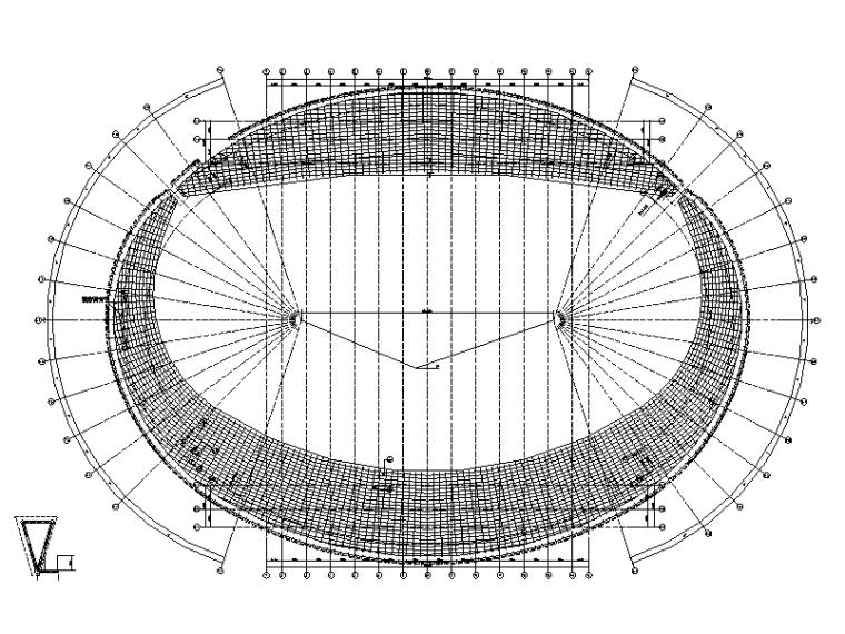 修文县体育场幕墙设计施工图(含招标文件)