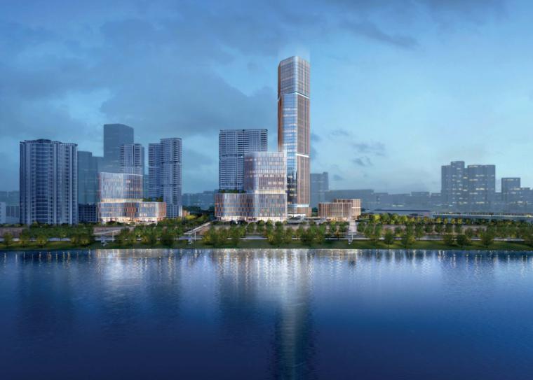 [湖北]万科汉宜路商业区建筑方案设计