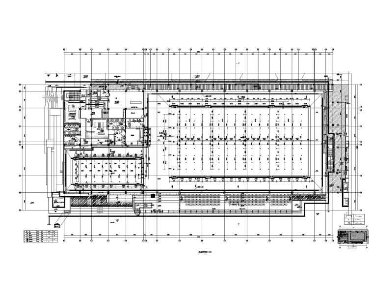 一层泳池管道平面图