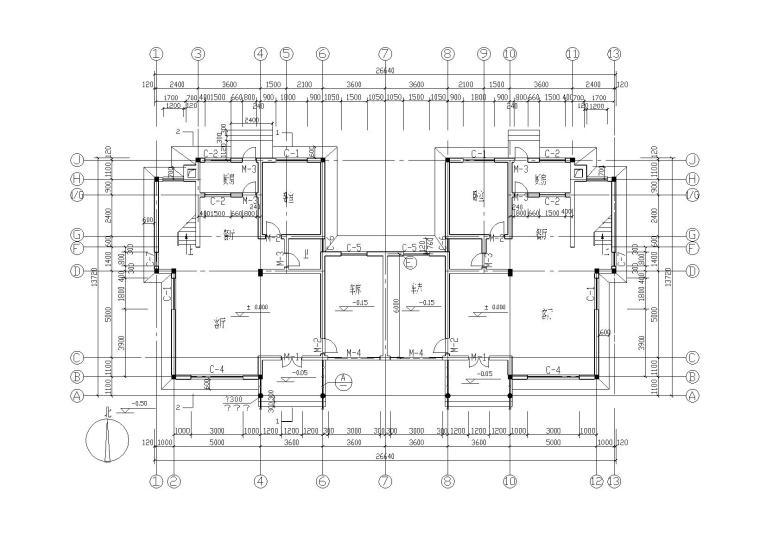 379套精选单层多层农村自建房+别墅建筑施工图3