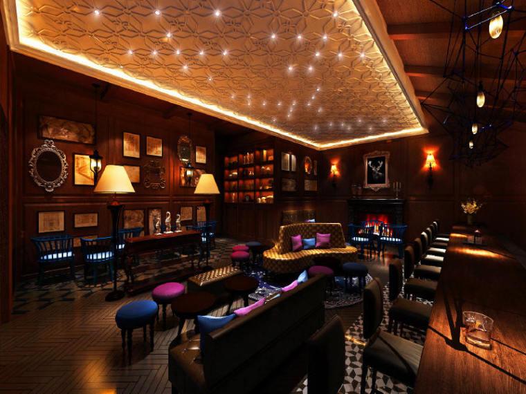 酒吧建设项目装饰装修工程图纸预3