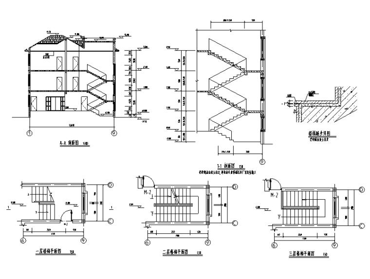 379套精选单层多层农村自建房+别墅建筑施工图9
